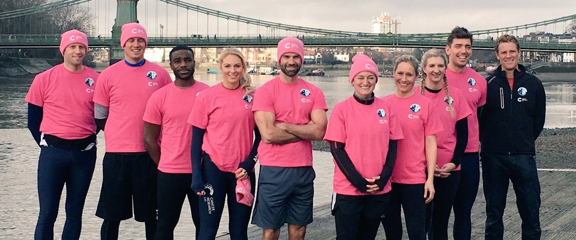 Celeb Boat Race for Cancer Research UK